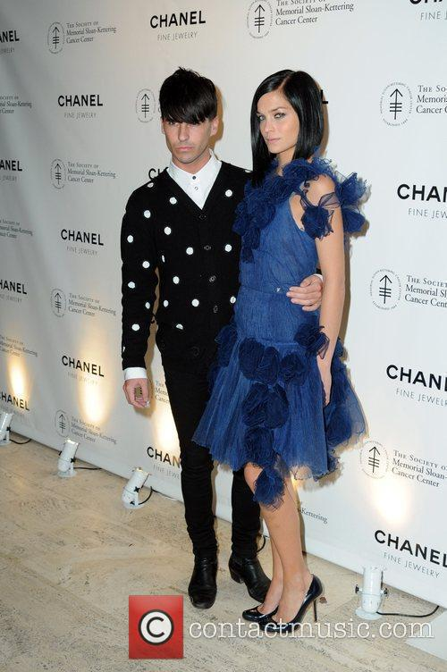 Leigh Lezark and guest Chanel Fall Gala held...
