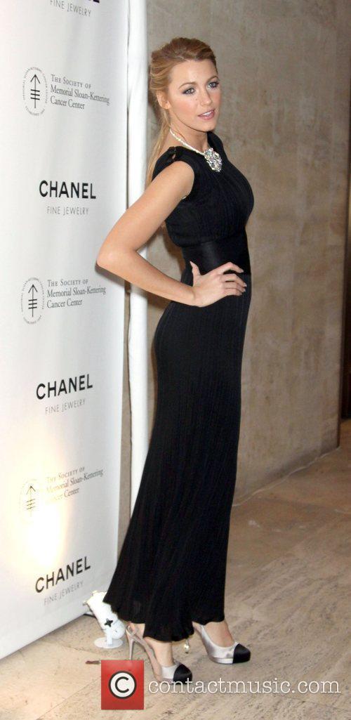 Blake Lively Chanel Sponsors Memorial Sloan Kettering Cancer...