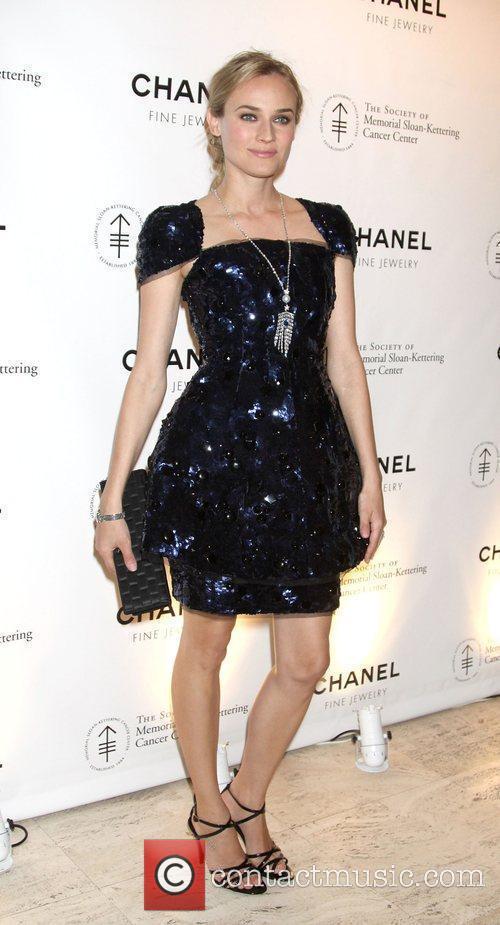 Diane Kruger Chanel Sponsors Memorial Sloan Kettering Cancer...
