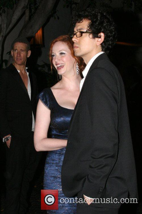 Christina Hendricks and Geoffery Arennd 3