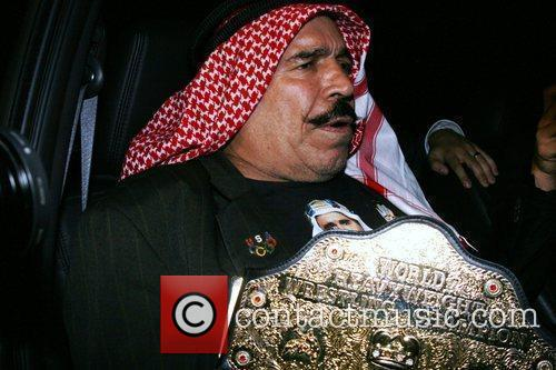 Iron Sheik at the Chateau Marmont after the...