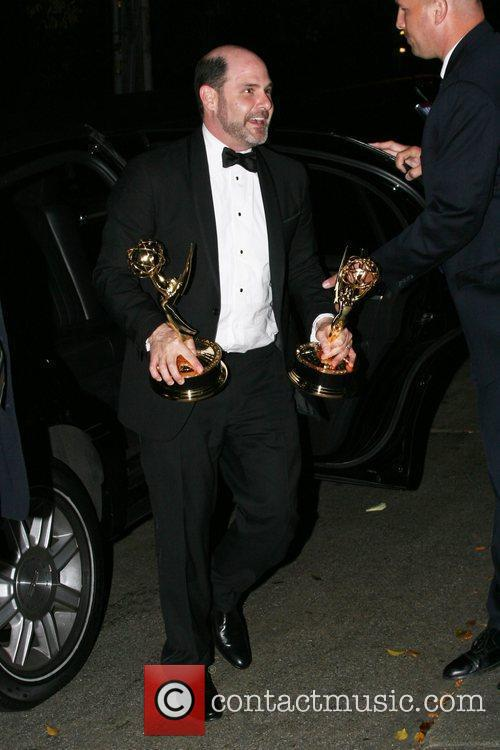 At the Chateau Marmont after the EMMY Awards