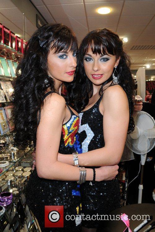 Monica Irimia and Gabriela Irimia Photocall for The...