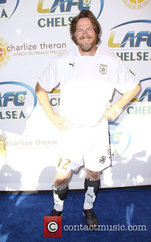 Donal Logue Chelsea v Inter Milan at the...