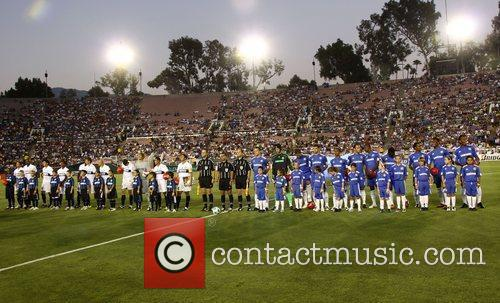 Inter-Milan team with the Chelsea team Chelsea v...