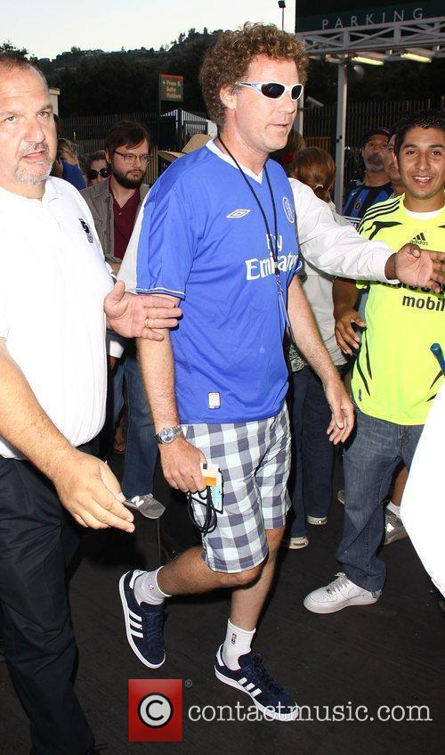 Will Ferrell Chelsea v Inter Milan at the...