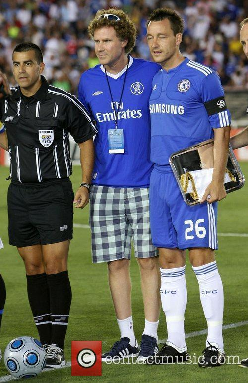 Will Ferrell and John Terry Chelsea v Inter...