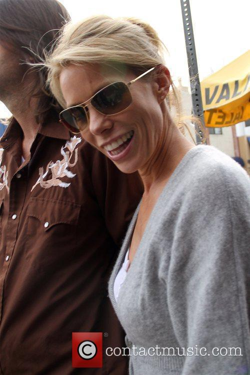 Cheryl Hines  seen leaving Toast after having...
