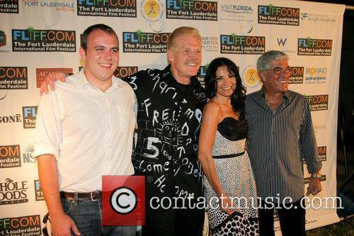 Brian Caunter, Danny Goldring, Kathrine Narducci and Frank...