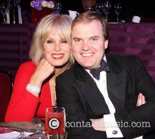 Joanna Lumley and Lord Dalmeny Chickenshed Fundraising Gala...