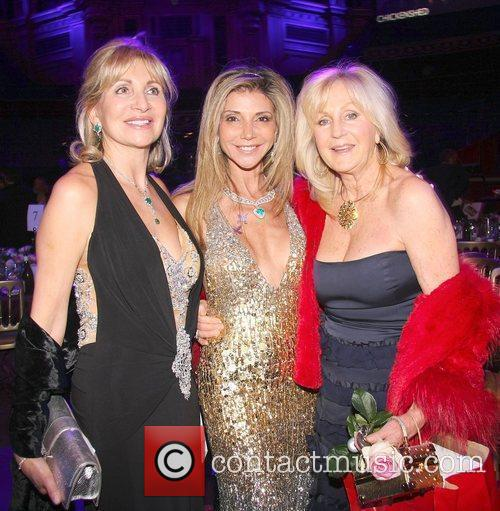 Liz Brewer and Guests Chickenshed Fundraising Gala held...