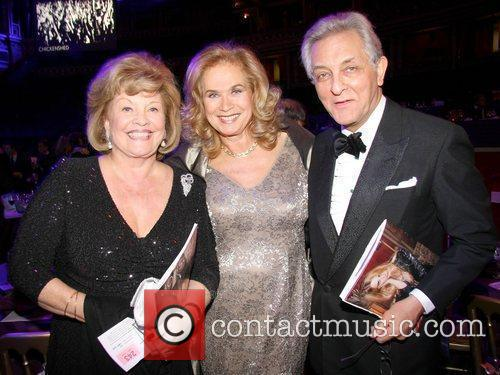 Valerie Leon and Guests Chickenshed Fundraising Gala held...