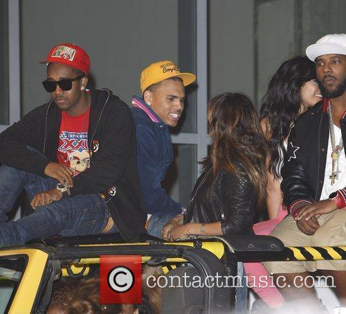 Chris Brown and Melody Thornton 6