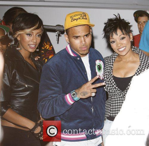 Keri Hilson and Chris Brown 2