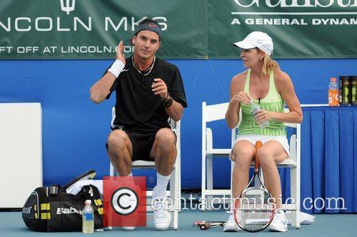 Gavin Rossdale and Chris Evert 1