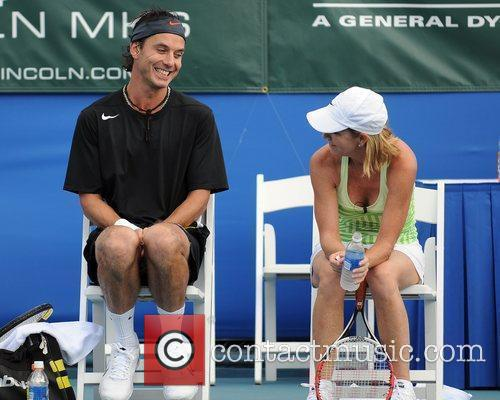 Gavin Rossdale and Chris Evert 4