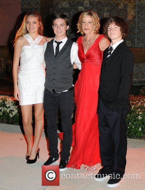 Chris Evert and Family 2
