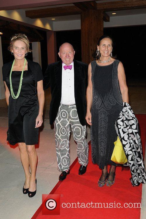 Leslie Visser, Bud and Mrs Collins  Chris...
