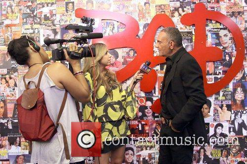 Christian Audigier and Host Diana Madison 1