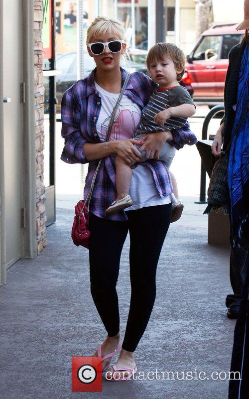 Christina Aguilera and Her Son Max 10