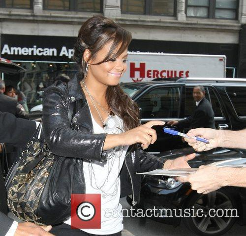 Arriving back at her Hotel in NYC