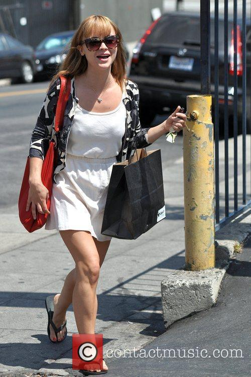 Christina Ricci spends her day running errands -...