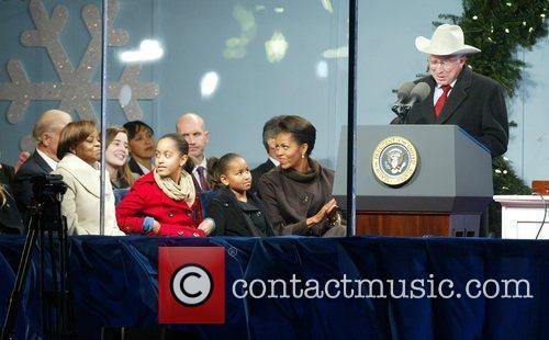 Marian Robinson, Michelle Obama, Malia Obama, Sasha Obama...