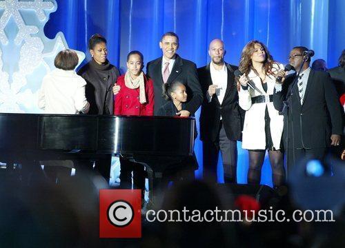 Michelle Obama, Michelle Obama, President Barack Obama, Malia...