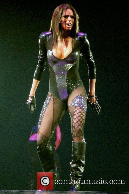 Ciara performing live at the O2 Arena in...