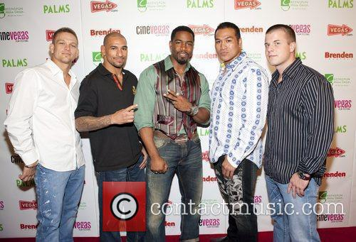 Michael Jai White and The Cast From The Fight Scenes 2