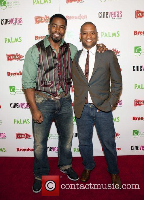 Michael Jai White and Scott Sanders 5