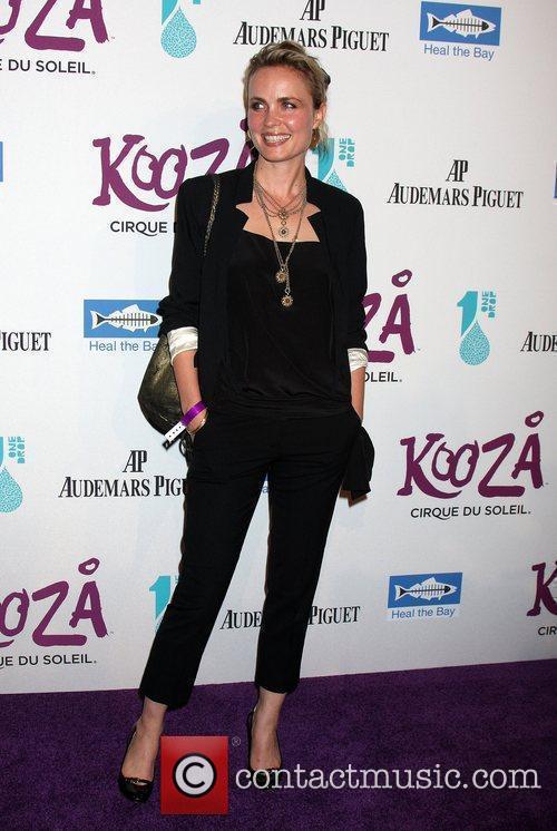 Radha Mitchell The KOOZA Cirque du Soleil opening...