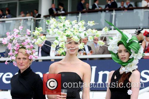 Atmosphere At The First Day Of The Epsom Derby Meeting 1
