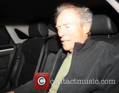 79 year old film director Clint Eastwood appears...