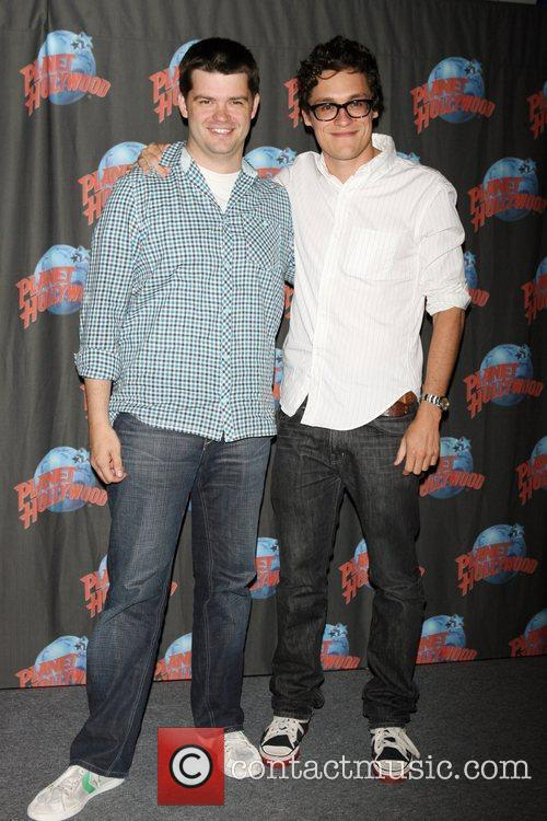 Phil Lord and Chris Miller promote 'Cloudy with...