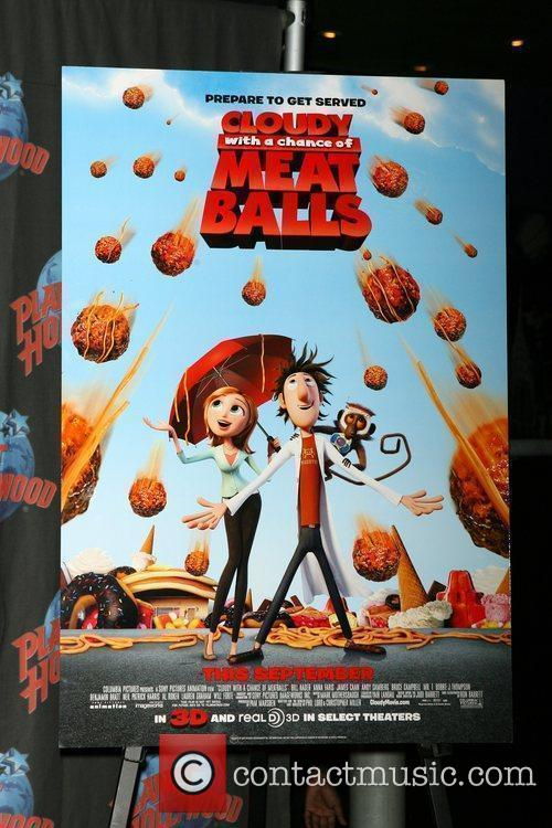 Poster Art 'Cloudy with a Chance of Meatballs'...