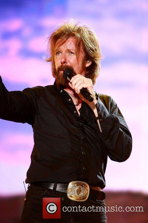 Ronnie Dunn performing live at LP Field as...