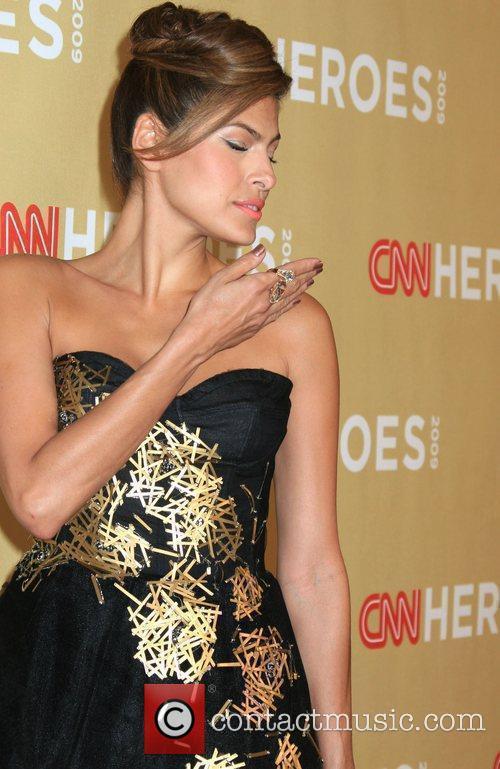 Eva Mendes CNN Heroes: An All-Star Tribute held...