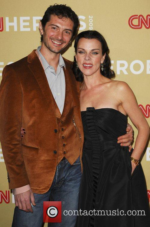 Debi Mazar and husband Gabriele Corcos CNN Heroes:...