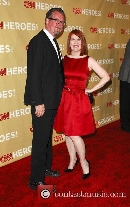 Kate Flannery and Chris Haston CNN Heroes: An...