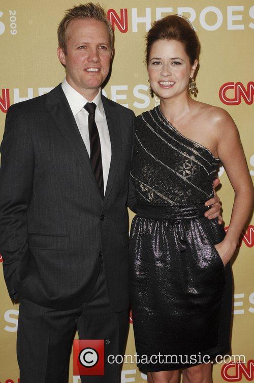 Lee Kirk and actress Jenna Fischer CNN Heroes:...