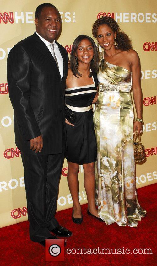 Rodney Peete, daughter and Holly Robinson Peete CNN...