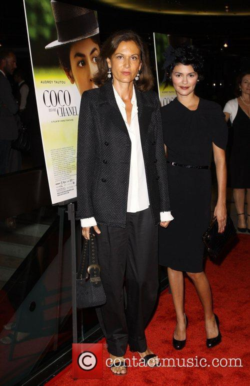 Anne Fontaine and Audrey Tautou 5
