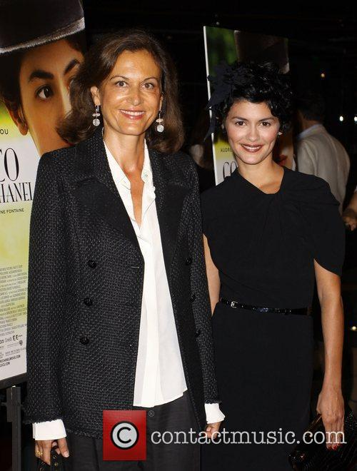 Anne Fontaine and Audrey Tautou 3