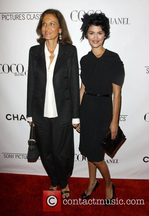 Anne Fontaine and Audrey Tautou 9