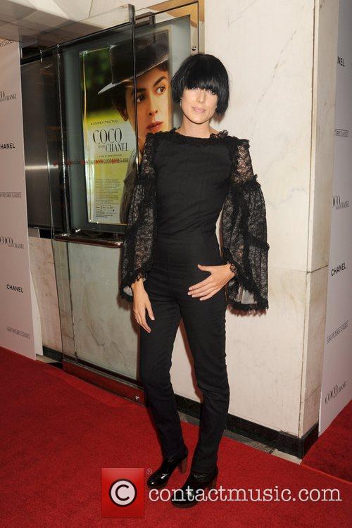 Agyness Deyn  New York premiere of 'Coco...