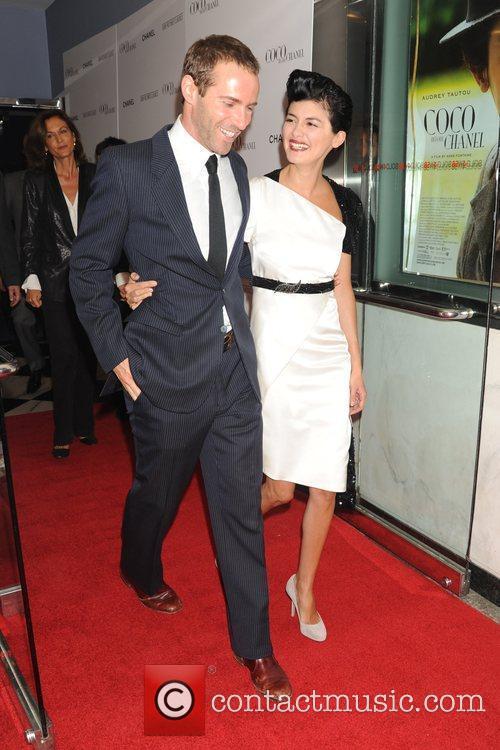 Alessandro Nivola and Audrey Tautou 2