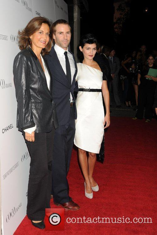 Anne Fontaine, Alessandro Nivola and Audrey Tautou 3