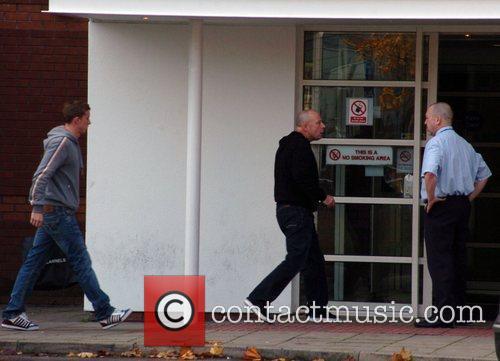 Tony McLoughlin arrives at Liverpool Womens Hospital amid...
