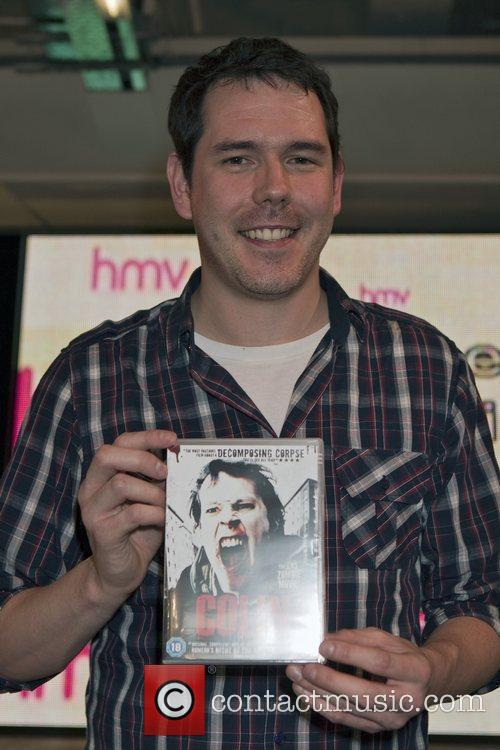 Attends the DVD launch of 'Colin' the zombie...